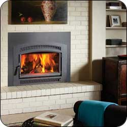London Chimney appliance - FPX Large Flush Hybrid-Fyre