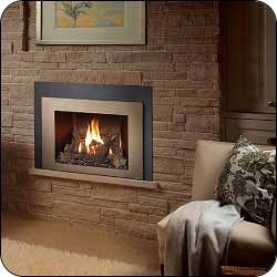 London Chimney appliance - Fireplace Xtrordinair 430-GSR2 Gas Insert