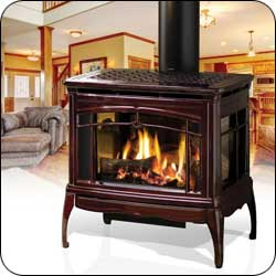 London Chimney appliance - Hearthstone Waitsfield Gas Stove