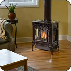 London Chimney appliance - Lopi Northfield Gas Stove