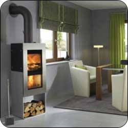 London Chimney Wittus Pur Wood Stove