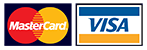 we accept MasterCard and Visa credit cards