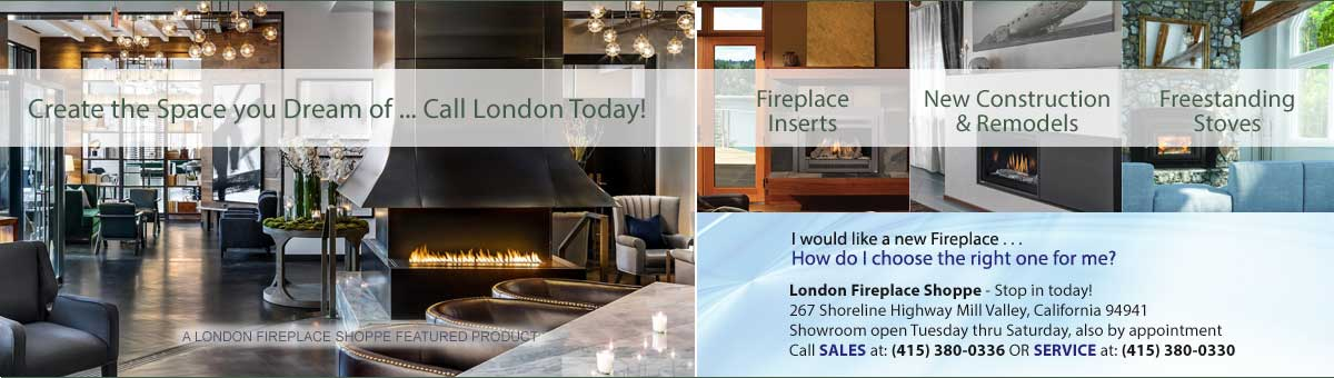 San Francisco's Leading Chimney Service Company & Fireplace Showroom For Over 41 Years!